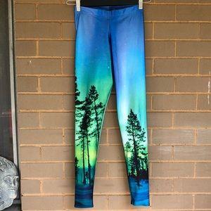 Blackmilk Pants - BlackMilk Aurora Leggings